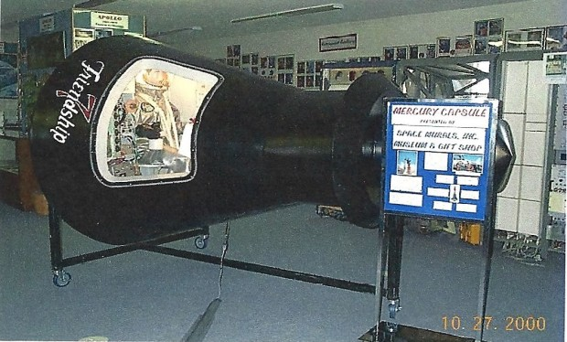 Mercury capsule replica